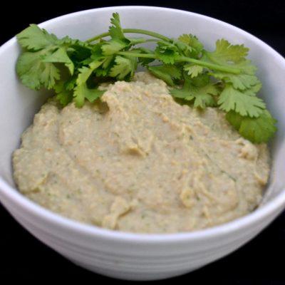 Garlic Cilantro Hummus