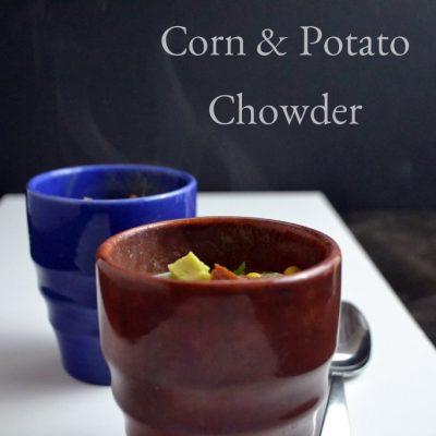 Corn, Kale & Potato Chowder