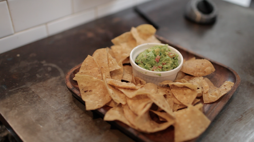 { chips and guac . Source }