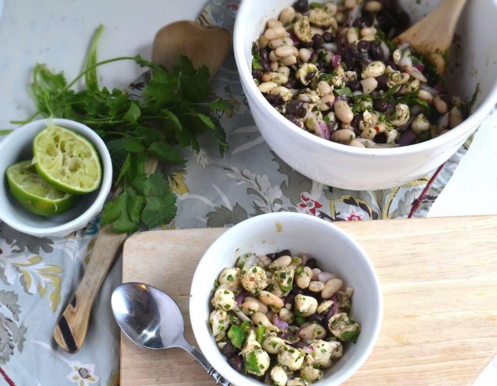 Bean Mozzarella salad3