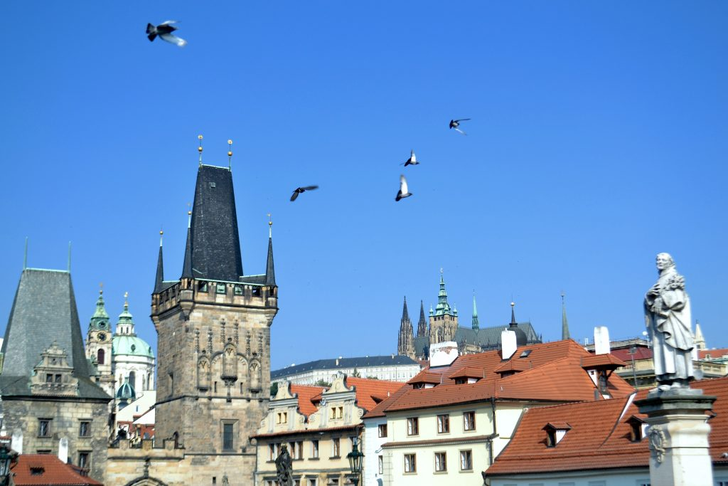 { charles bridge . prague }