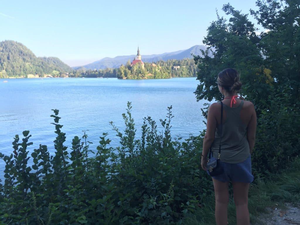 { lake bled , slovenia }