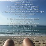 summer fun to-do
