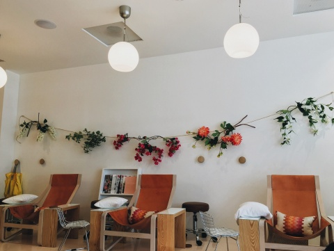 { olive and june . the cutest salon }