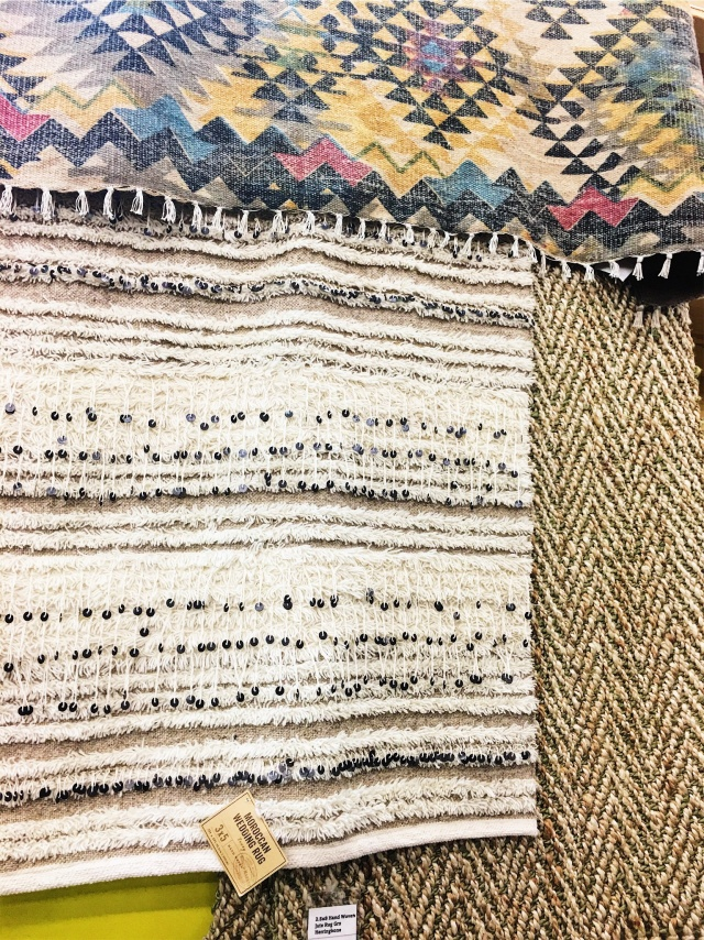 { world market rug love }